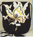 A-8 13M Sophia Designs Purse Butterfly