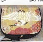 B-10 13M Flap only Golden Crane Sophia Designs Purse