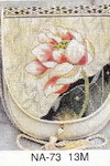 NA-73 Red Water Lilly Sophia Designs Purse