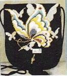 A-8 Sophia Designs Purse Flap Butterfly