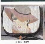 B-100 13M Grey Hat Lady Sophia Designs Purse