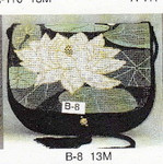 B-8 13M Flap only Water Lily Sophia Designs Purse