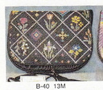 B-40 13M Flap only Flower Bed Sophia Designs Purse