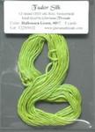 #097 HALLOWEEN GREEN GLORIANA TUDOR SILK