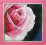 P1271SKU Lee's Needle Arts Flower Facing Right, 10x10, 13M
