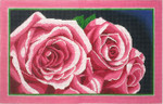 P1272SKU Lee's Needle Arts  Two Roses, 6x10, 13M