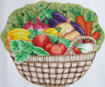 108SKU Lee's Needle Arts Vegetable Basket 15 x 12.5 Mesh size: 13