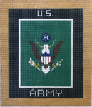 AO1317SKU Lee's Needle Arts  Army Hand-painted canvas 6x7k 18M