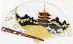 SC-811 Sophia Designs Pagoda Fan