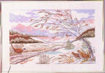 "7714263 Eva Rosenstand Kit Phesant Landscape 20"" x 14""; Linen; 25ct"