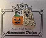 GHOSTY AND PUMPKIN - LIMITED EDITION  Magnet