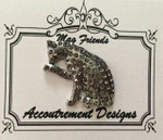 Cat gray Glamorous MAGNET Accoutrement Designs