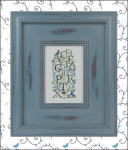 Bluebird Alphabet Just Nan Designs JN225