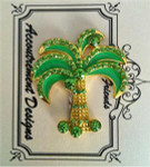 Palm Tree Monster MAGNET Accoutrement Designs