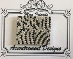 Special/Limited Edition Zebra Print MAGNET Accoutrement Designs