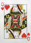 P1276 Lee's Needle Arts Queen of Hearts, 8x11, 18M