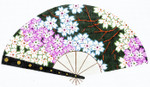 F776SSKU Lee's Needle Arts Cherry Blossoms/Green Hand-Painted Canvas 10in x 5.5in, 18m