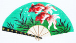 F788SSKU Lee's Needle Arts Goldfish Hand-Painted Canvas 10in x 5.5in, 18m