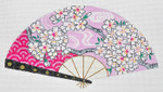 F790SSKU Lee's Needle Arts  Plum Blossoms Hand-Painted Canvas 10in x 5.5in, 18m