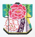 K1069SKU Lee's Needle Arts Petite Kimono 18M 3in. x 3.5in.