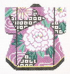 K1073SKU Lee's Needle Arts Petite Kimono 18M 3in. x 3.5in.