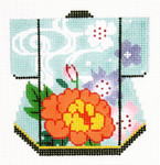 K1075SKU Lee's Needle Arts Petite Kimono 18M 3in. x 3.5in.