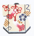 K1080SKU Lee's Needle Arts Petite Kimono 18M 3in. x 3.5in.