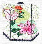 K1081SKU Lee's Needle Arts Petite Kimono 18M 3in. x 3.5in.