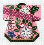 K1084SKU Lee's Needle Arts Petite Kimono 18M 3in. x 3.5in.