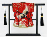 "ST03SKU Lee's Needle Arts Mini Black Stand for 3"" x 3.5 in Petite Kimono 3in. x 3.5in."
