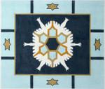 J215SKU Lee's Needle Arts Tallis Bag Hand-Painted Canvas 14x11, 13M