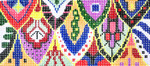BB10SKU Lee's Needle Arts Fish Scale Hand-painted canvas - 18 Mesh 6in. X 2.75in.
