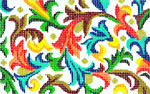 BD20SKU Lee's Needle Arts  Florentine Hand-painted canvas - 18 Mesh 5.25in. X 3.25in.