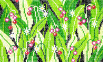 BD44SKU Lee's Needle Arts  Lily Of The Valley Hand-painted canvas - 18 Mesh 5.25in. X 3.25in.
