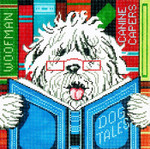 P1100 Lee's Needle Arts Dog Tales Hand-painted canvas - 13 Mesh 10X10