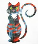 AO1311SKU Lee's Needle Arts Goldfish Cat 18M 5.5in. x 6.5in.