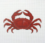 P1268 Lee's Needle Arts Red Crab 13M 2014 12in x 12in