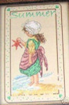 Summer, Fall, Winter, Spring, and Winter Passione Ricamo Counted Cross Stitch Patterns