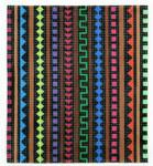BG88SKU Lee's Needle Arts Multi Color Pattern Hand-painted canvas - 18 Mesh