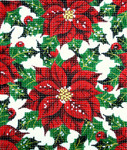 BG9988SKU Lee's Needle Floral, Holly Hand-painted canvas - 18 Mesh