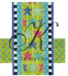 "KC-KCCX23-18 Star Celebration Bar 3.5""w x 4""h 18 Mesh KELLY CLARK STUDIO, LLC"