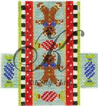 "KC-KCCX19-18 Gingerbread Candied Crunch 3.5""w x 4""h 18 Mesh KELLY CLARK STUDIO, LLC"