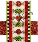 "KC-KCCX15-18 Holiday Candied Dream Bar 3.5""w x 4""h 18 Mesh KELLY CLARK STUDIO, LLC"