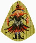 """KC-KAH13-18 Alexis Arachnoid 5""""w x 6""""h 18 Mesh KELLY CLARK STUDIO, LLC"""