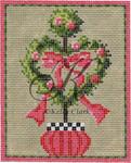 "KC-KCN931-18 Heart Topiary 3.4""w x 4.5""h 18 Mesh KELLY CLARK STUDIO, LLC"