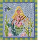 "KC-KCN932 Blonde Diva Mermaid 6.5"" w x 7.25"" h 14 Mesh KELLY CLARK STUDIO, LLC"