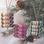 07-2897 Ribbon Candy Ornament by Calico Crossroads
