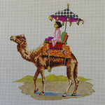AN132 Colors of Praise 13 Mesh Camel w/Woman
