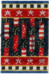 "KC-KCNFC5 Firecracker-on-a-Firecracker! 2.25""w x 3.5""h 18  Mesh  KELLY CLARK STUDIO, LLC"