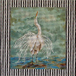 AN104 Colors of Praise 18 Mesh Canvas Egret